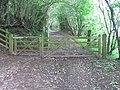 Gate on Rhymney Valley Ridgeway Walk - geograph.org.uk - 2655551.jpg