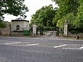 Gatehouse and gates to Clayton Priory - geograph.org.uk - 57246.jpg