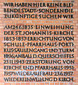 Gedenktafel Alt-Moabit 24 (Moab) St Johannis Kirche.JPG