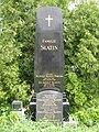 Gemeindeberggasse 34 Ober St. Veiter Friedhof Grab Slatin Pascha.JPG