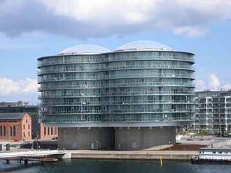 Islands Brygge - Gemini Residence, two former silos converted into an apartment building by MVRDV
