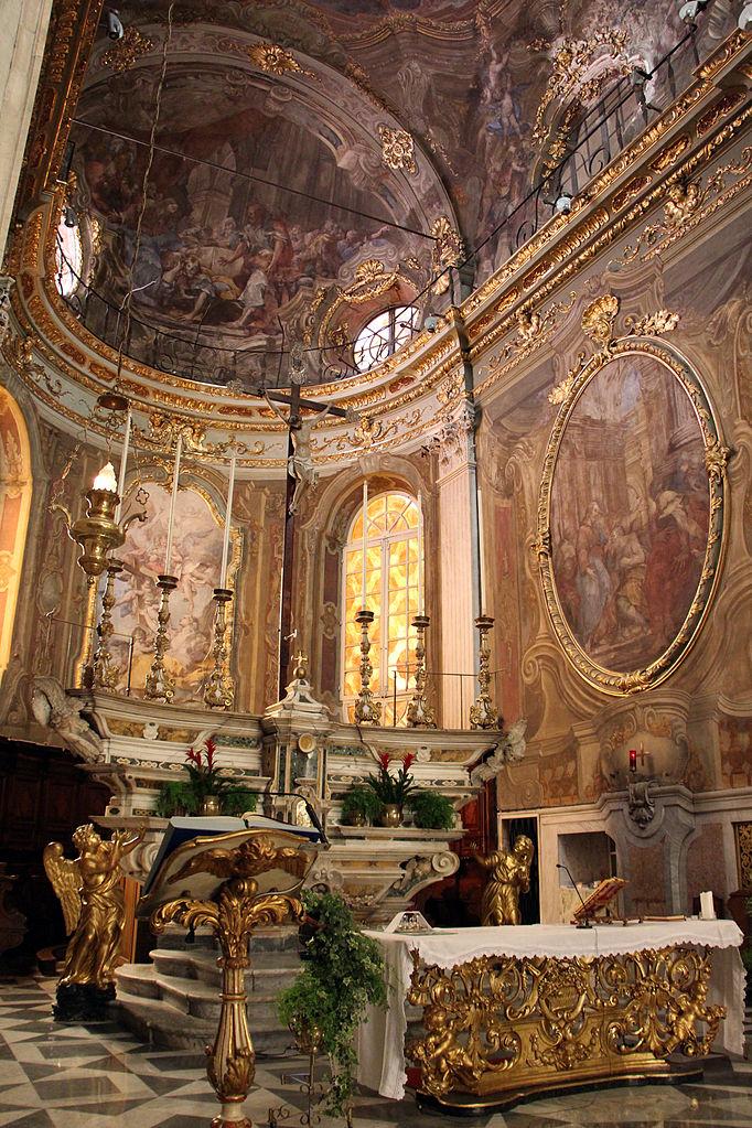 Autel de l'église Santa Maddalena dans le vieux Genes - Photo de Sailko.