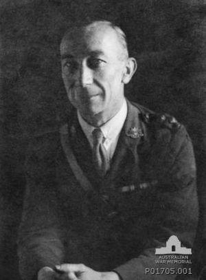 George Courtney Benson - Lieutenant George Courtney Benson in military uniform