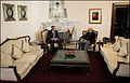 George W. Bush and Hamid Karzai chatting at the Presidential Palace in Kabul.jpg