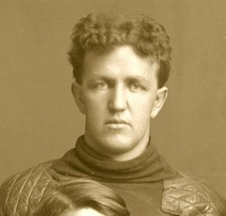 George W. Gregory - Gregory cropped from 1902 Michigan football team portrait