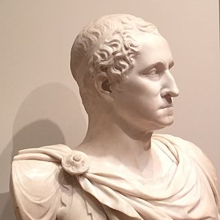 marble bust portrait by Giuseppe Ceracchi
