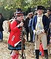 George and a highlander at Battle of Ft Washington jeh.jpg