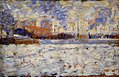 Georges seurat - Snow Effect - Winter in the Suburbs PC 69.jpg