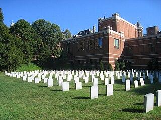 Jesuit Community Cemetery historic cemetery at Georgetown University