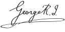 Georve V Signature.svg
