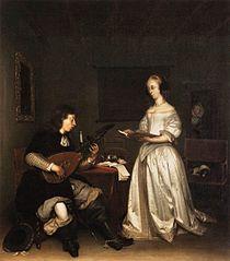 Le Duo : chanteuse et joueur de luth théorbe