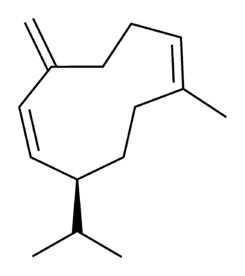 Germacrene D chemical structure.png