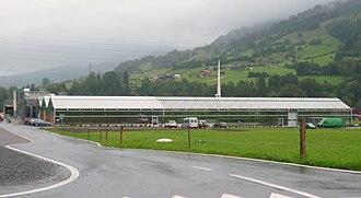 Frutigen - Tropical greenhouse in Frutigen