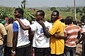 Ghana men stand together (7250583452).jpg