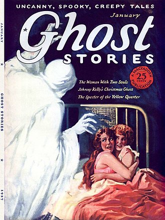 Horror fiction magazine - Image: Ghost Stories Vol 2No 1