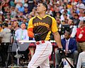 Giancarlo Stanton competes in final round of the '16 T-Mobile -HRDerby (28568338645).jpg