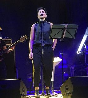 Giordana Angi Italian singer and songwriter