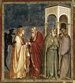 Giotto di Bondone - No. 28 Scenes from the Life of Christ - 12. Judas' Betrayal - WGA09213.jpg