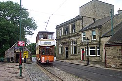 Glasgow Corporation Tramways No. 22 (DCP 6339).jpg
