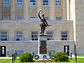 Goderich Court House Statue May 2012.jpg