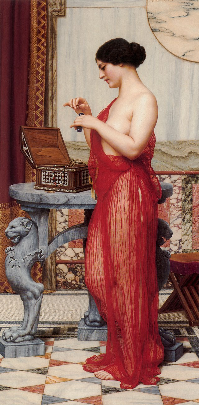 Godward-The New Perfume-1914