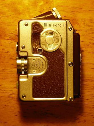Goerz (company) - Goerz Minicord III twin lens reflex 16 mm film camera
