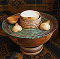 Gourds - communal serving with calabash bowls, spoons, stacked.jpg