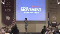 File:Governor Nikki Haley's Town Hall tour- Rock Hill.webm