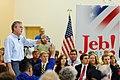 Governor of Florida Jeb Bush at TurboCam, Barrington, New Hampshire on August 17th by Michael Vadon.jpg