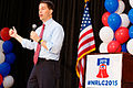 Governor of Wisconsin Scott Walker at Northeast Republican Leadership Conference in Philadelphia PA June 2015 by Michael Vadon 02.jpg