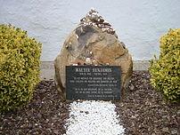 Grave of Walter Benjamin in Portbou, Spain