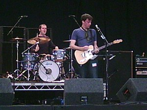 Graham Coxon - Coxon at the 2005 Leeds Festival