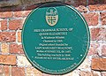 Grammar School plaque - geograph.org.uk - 1443051.jpg