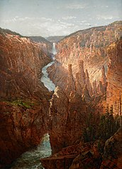 Grand Canyon, Yellowstone River, Wyoming