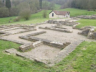 Great Witcombe Roman Villa Roman estate at Witcombe