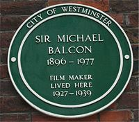 200px green plaque michael balcon