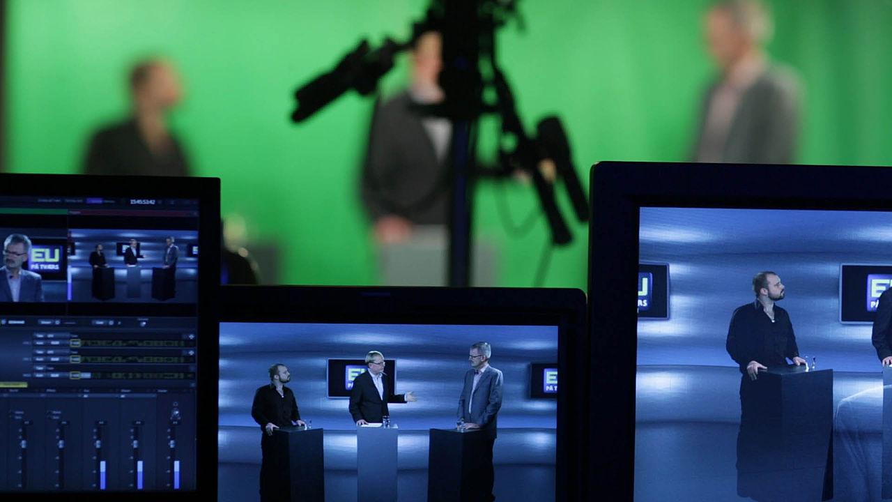 Rørig File:Green screen live streaming production at Mediehuset GE-74