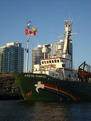 Greenpeace ship Arctic Sunrise