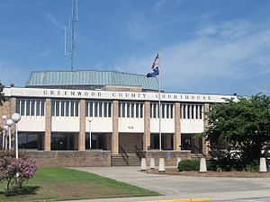 Greenwood, South Carolina - Greenwood County Courthouse in Greenwood