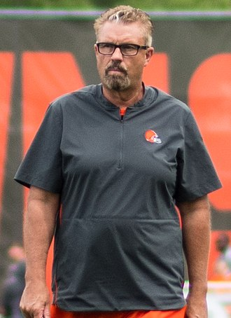 Gregg Williams - Williams at 2018 Cleveland Browns training camp