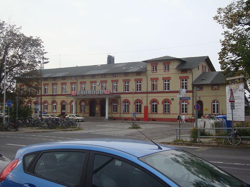 Bahnhofstraße Greifswald