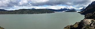 Grey Lake - Grey Glacier