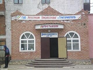 Town in Transnistria, Moldova