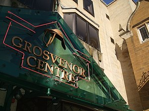 Grosvenor Centre - The Grosvenor Centre, Northampton. Market Square entrance.
