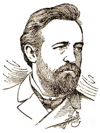 Paul Grottkau - Radical publisher Paul Grottkau as he appeared circa 1886.