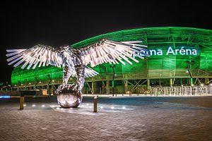 2017–18 Nemzeti Bajnokság I - Image: Groupama Arena Budapest (17267881892)