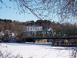 Old Bates Bridge on the Merrimack River