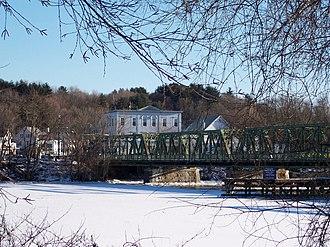 Groveland, Massachusetts - Old Bates Bridge on the Merrimack River