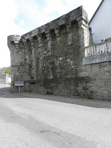 Château de Guémené-sur-Scorff (56). Porterie des Rohan.