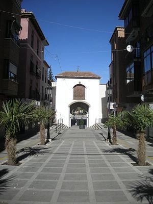 Torquatus of Acci - The Gate of Saint Torquatus (Puerta de San Torcuato) in Guadix.